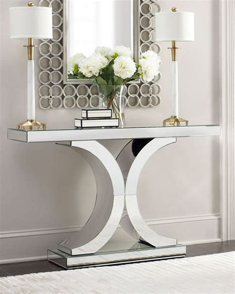 hall table and mirror mirrored foyer table silver stabbedinback foyer