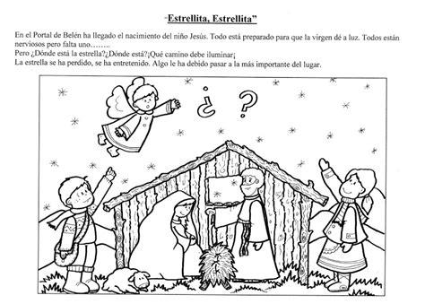 Cuentos De Navidad Para Colorear Pintar Im Genes | cuento estrellita estrellita cuentosinfantiles biz