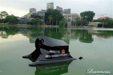 Ghost Drone Di Indonesia foto sea ghost project kapal tanpa awak ui dan tni laurencius