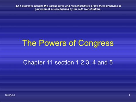 chapter 11 section 3 other expressed powers answers the expressed powers of congress