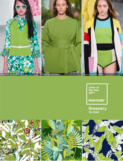2017 color trends fashion pantone colour of the year 2017 greenery patternbank