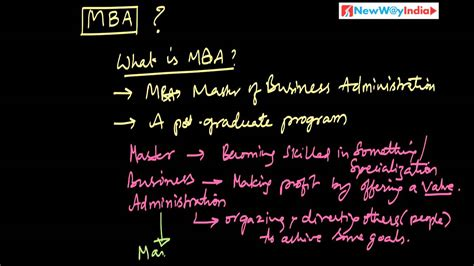 Mba For Beginners by Mba 101 001 What Is Mba Best For Mba Beginners Mba