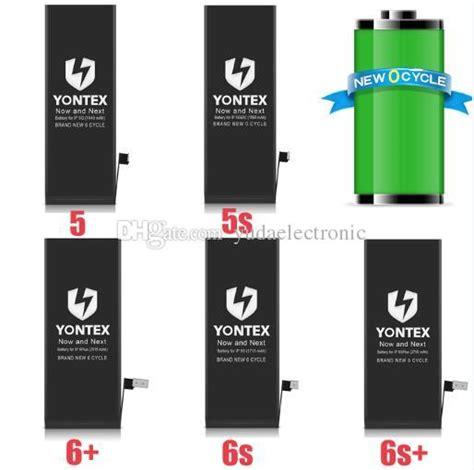Battery Baterai Apple Iphone 6s Original yontex brand original quality batteries for apple iphone 4 4s 5 5s 5c 6 6s 6p 6sp mobile phone
