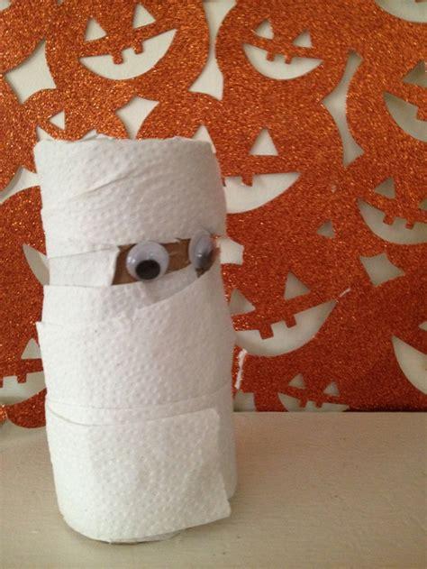 Mummy Toilet Paper Roll Craft - scooby doo birthday ideas for preschoolers my