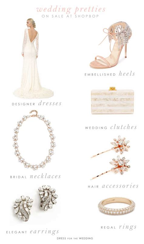Wedding Accessories Sale by Don T Miss Shopbop S Sale On Wedding Dresses And Bridal