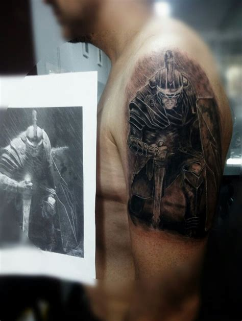 roman soldier tattoo best 25 soldier ideas on spartan