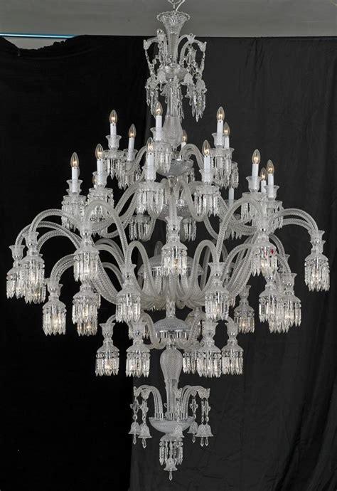 baccarat chandeliers sol 48 light baccarat inspired chandelier