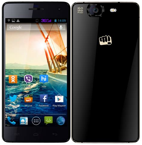 canvas knight 2 micromax canvas knight a350 black