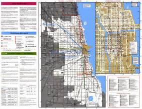 Chicago L Map by Chicago L Org System Maps Route Maps