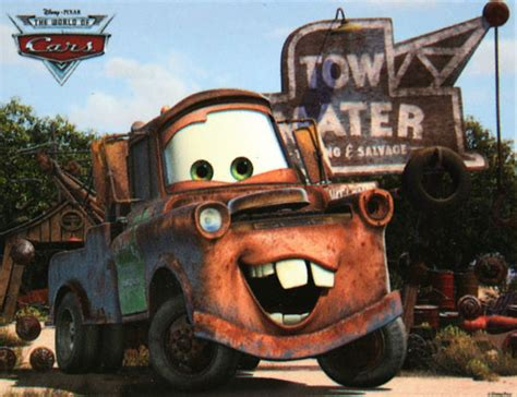 cars characters mater disney cars characters quot tow mater quot wallpaper