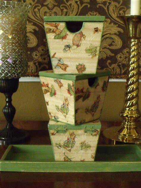 Beatrix Potter Decoupage - 17 best images about wood and decoupage on