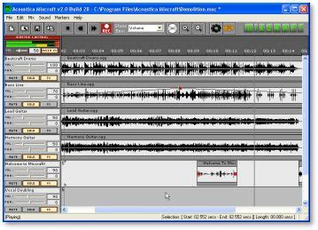 download mp3 cutter and mixer for pc mixcraft recording studio software mixcraft download