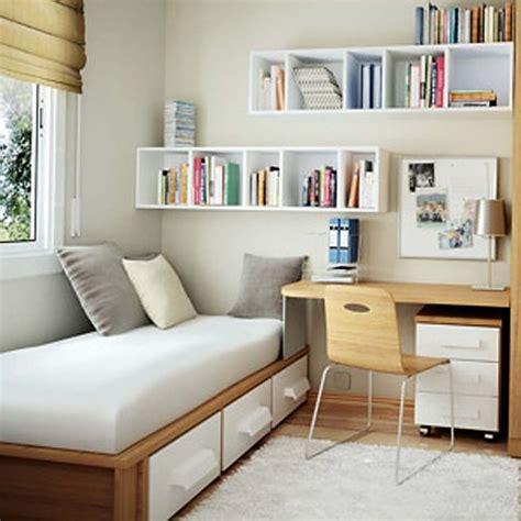 inspirasi desain interior kamar tidur ukuran kecil