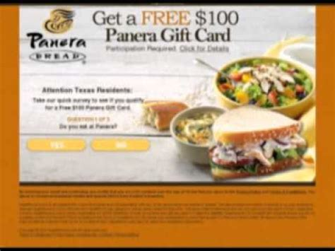 printable gift cards panera bread panera coupons youtube