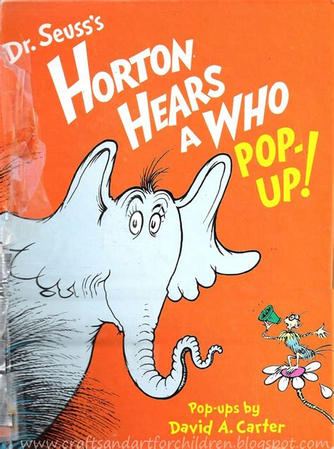 dr seuss s horton hears a who crafts book amp movie