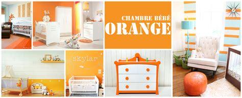 chambre enfant orange chambre b 233 b 233 inspirez vous berceau magique