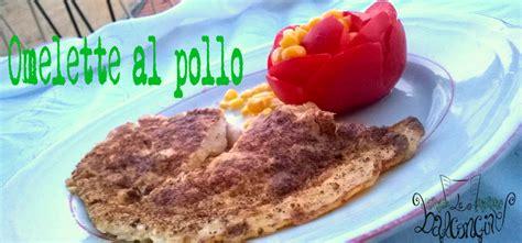 cucinare omelette omelette al pollo cucinare chiacchierando