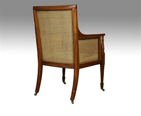 edwardian armchair edwardian mahogany bergere armchair antiques atlas