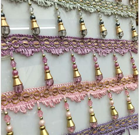 curtain trim tassel fringe aliexpress com buy 12 yard lot curtain lace accessories