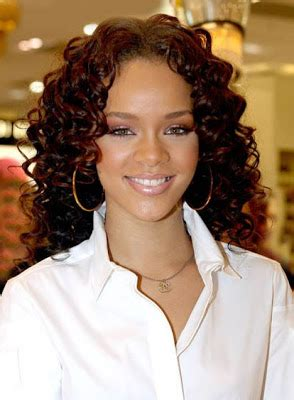 african american women curly long hair styles ~ celebrity