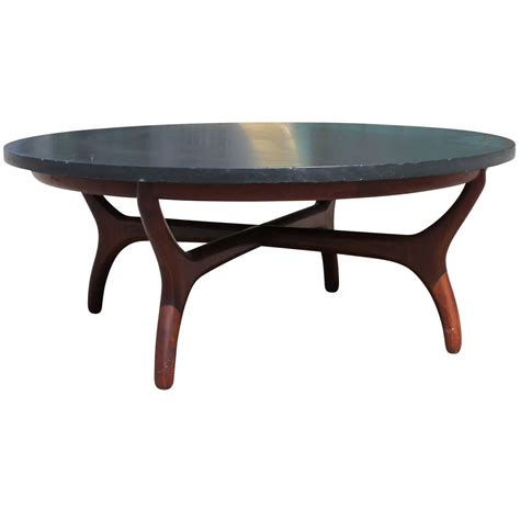 Beautiful Slate Topped Coffee Table By Henredon At 1stdibs Slate Coffee Table