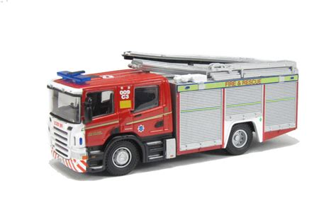 Diecast Truk Unicar Scania Transfort hattons co uk oxford diecast 76sfe001 scania engine quot cleveland rescue quot