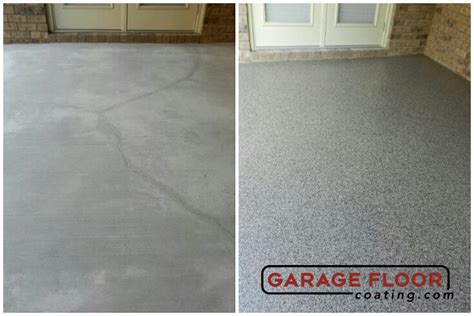 Garage Floor Paint Before And After Home Before After