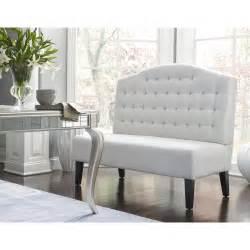 furniture modern light brown vinyl cushioned corner bench