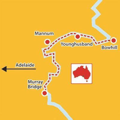 australian map aussie redback tours