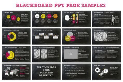 chalkboard ppt presentation template presentation