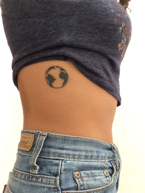pinterest tattoo planet tattoo on side of a planet earth tattoos pinterest