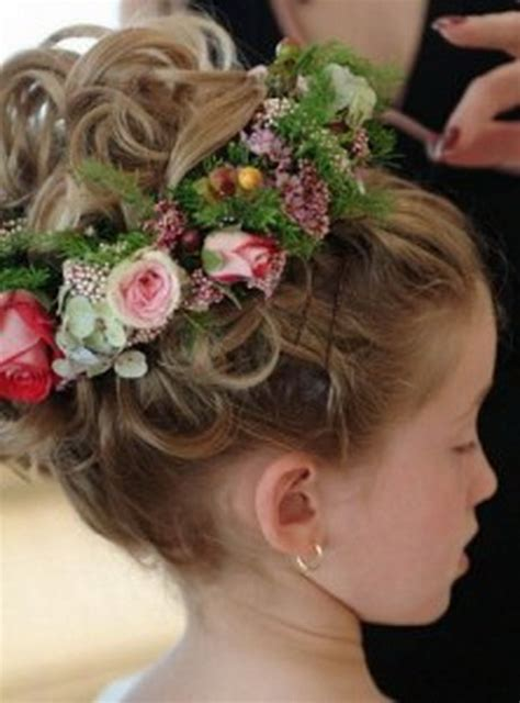 bridal hairstyles for children wedding hair styles for kids