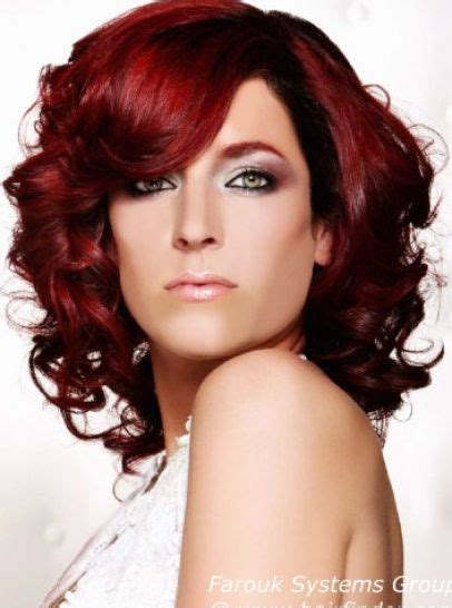 red underlay on hair the gallery for gt black hair with red underlayer