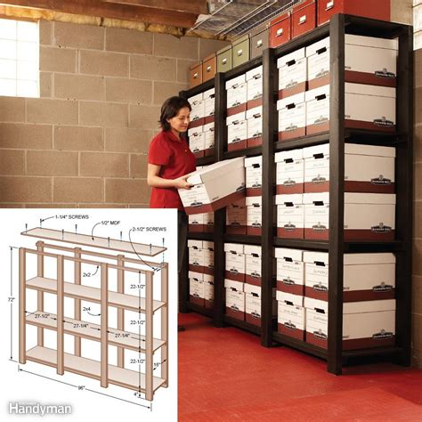 storeroom solutions 12 simple storage solutions for small spaces the family handyman