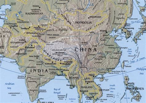 geography map india geography map