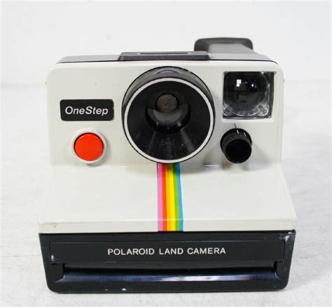 polaroid one instant polaroid one step rainbow instant land vintage with