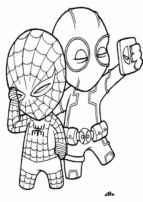 deadpool coloring pages deadpool coloring pages birthday coloring pages