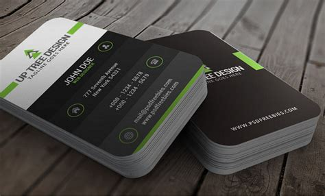 50 Best Free Psd Business Card Templates For Commercial Use Tech Business Card Template