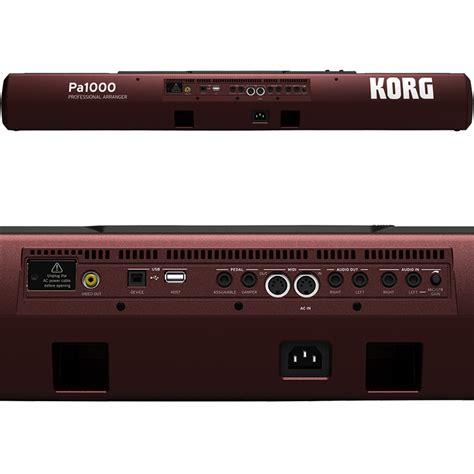 Keyboard Korg Pa 1000 Korg Pa1000 61 Key Professional Arranger Keyboard