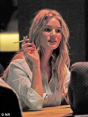 uk female celebrities smoking celebrities make money promoting healthy living but