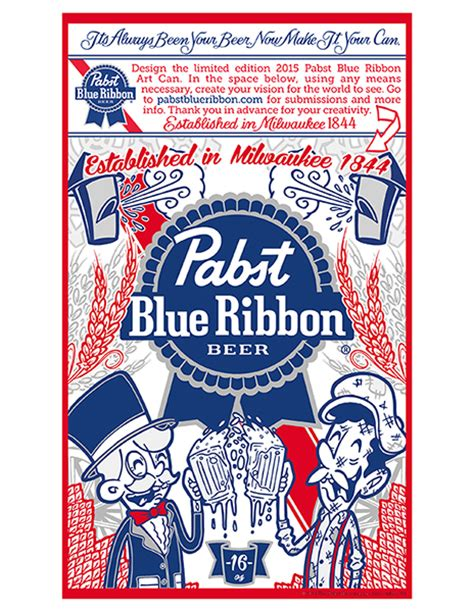 Label Design History | pbr quot make it your can quot contest submission on behance