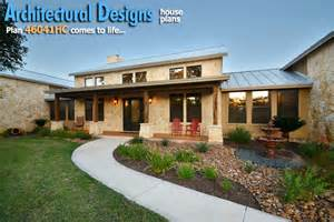 hill country home designs architectural designs hill country home with massive porch austin by architectural designs