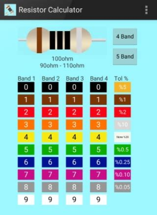 resistor calculator software for android resistor calculator android apps on play