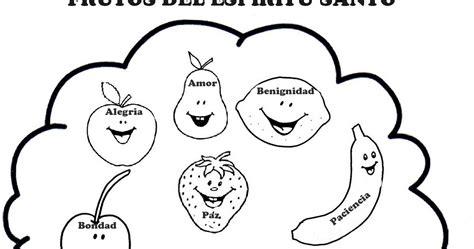 los frutos del espiritu santo para colorear ebi paraguay septiembre para colorear