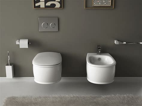 Small Bathroom Fixtures Wall Hung Sanitary Fixtures For Small Space Conscious Bathroom Designs