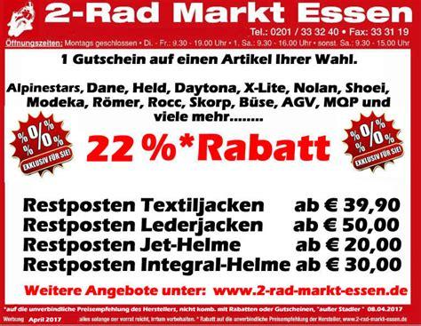 Motorradbekleidung Essen by Zweiradmarkt Essen Herzlich Willkommen Im Fachgesch 228 Ft