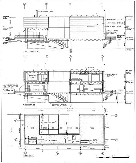 section elevation drawing house plans and design architectural house plans drawings