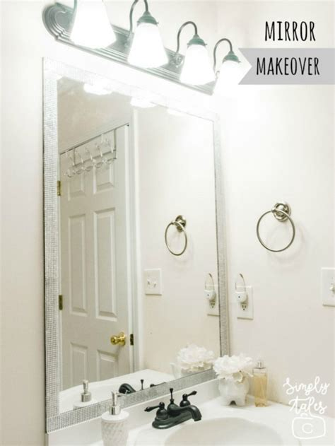 home improvement easy and mirror makeover simply tale