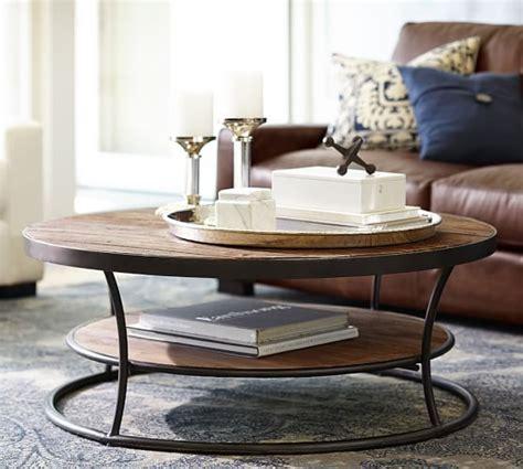 Bartlett Reclaimed Wood Coffee Table   Pottery Barn