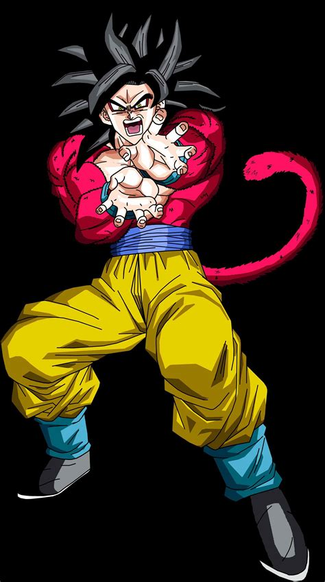 Saiyan Goku goku saiyan 4 www pixshark images galleries
